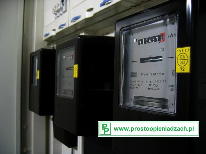 Opłaty za prąd elektryczny